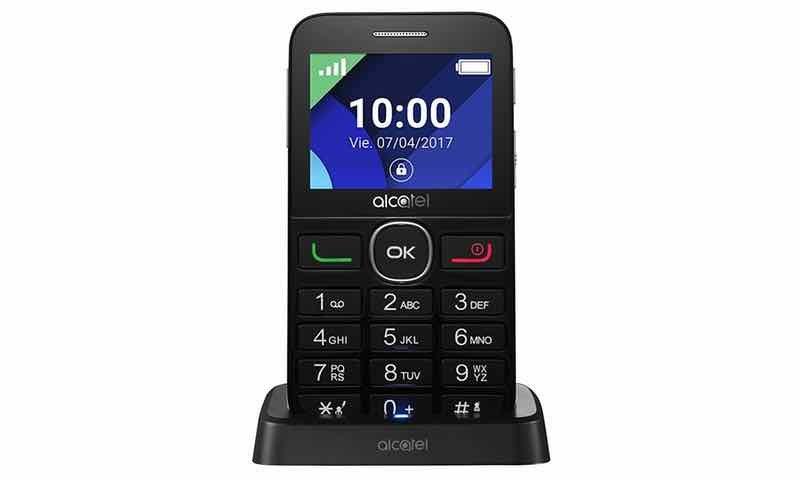 móviles para mayores alcatel 2008G, quitar sonido teclado alcatel 2008g, alcatel 2008g características, alcatel para mayores, alcatel2008g