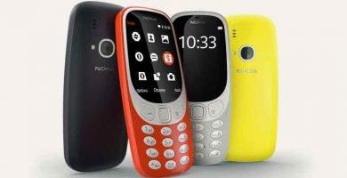 Nokia 3310. móviles para mayores