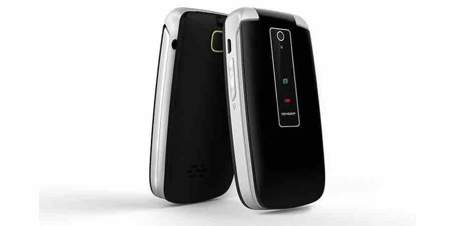 Teléfono móvil con tapa Isheep SF213 GSM