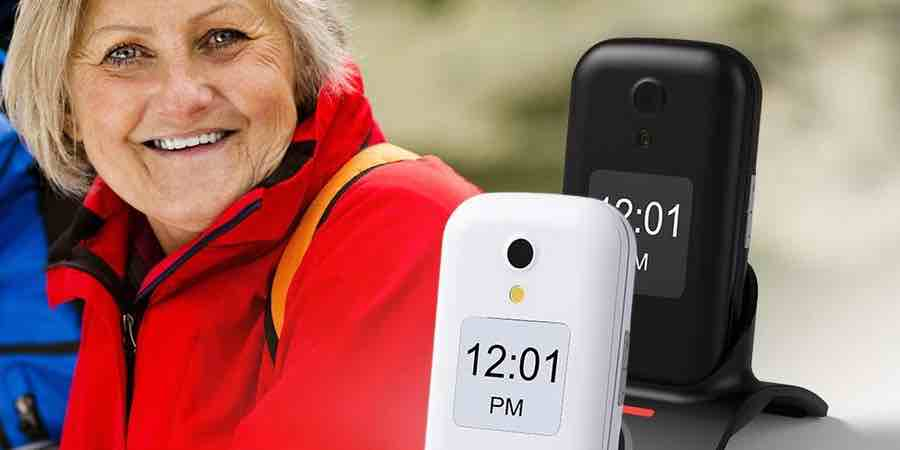 móviles para senior swissvoice