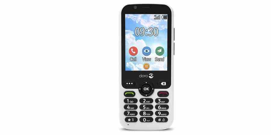 movil fácil de usar con whatsapp Doro 7010