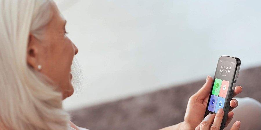 Smartphone para mayores con sonido alto SPC Apolo, moviles para mayores